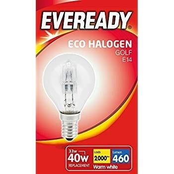 Eveready Halogen Golf Bulbs