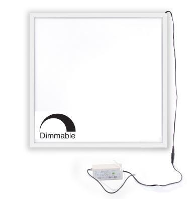Dimmable 600x600 LED Panels