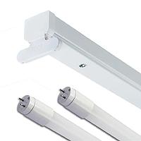 LED Batten Fittings - Optional Tubes
