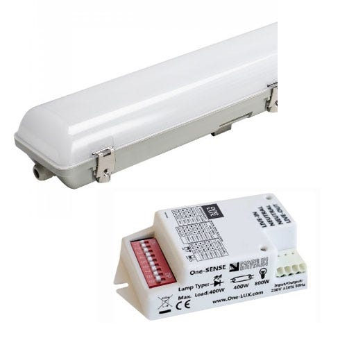 LED IP65 Luminaires with Microwave Sensors