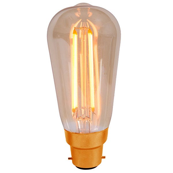 Vintage Squirrel Cage LED