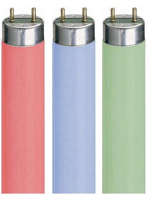 Coloured T8 Tubes