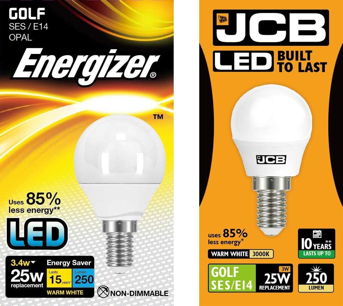 Energizer / JCB LED Golf Bulbs