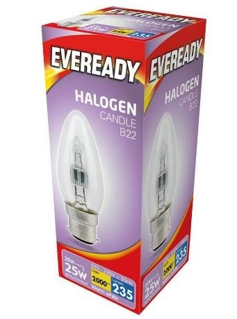 Eveready Halogen Candles