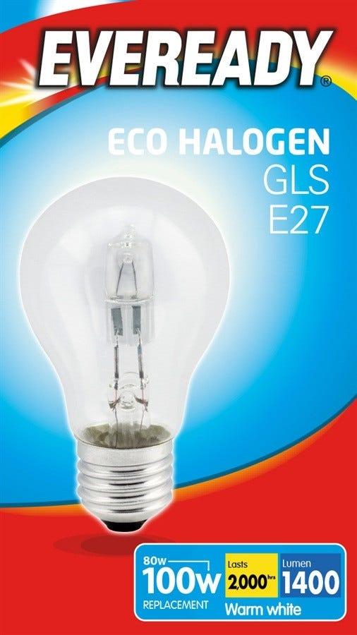 Eveready Halogen GLS Bulbs