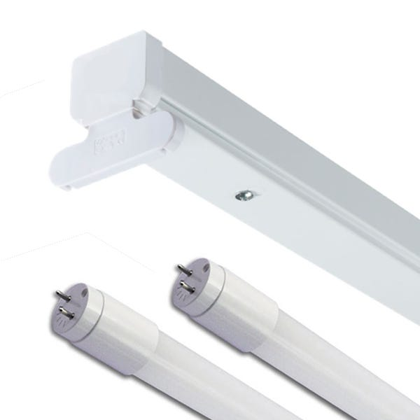LED Batten Fittings - Optional Tubes