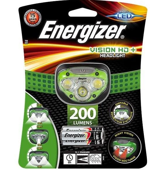 Energizer VISION HD+ HEADLIGHT LED Torch S9179