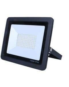 100w LED Floodlight, 6000k, Black
