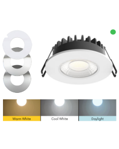 EMERGENCY ALL IN ONE 12W LED DIMMABLE DOWNLIGHT - 106MM