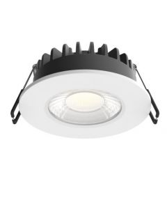 All In One 12w LED Dimmable Downlight - 106mm front