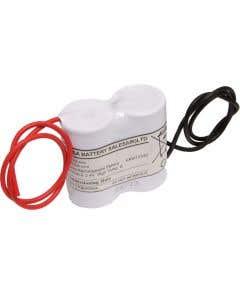 Yuasa 2DH4-0L3 - Emergency Battery 2 Cell Side by Side c/w Leads