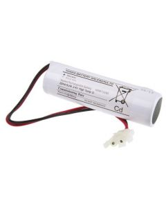 Yuasa 2DH4-0LA4 - Emergency Battery 2 Cell Stick with Leads & Amp