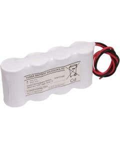 Yuasa 4DH4-0L3 - Emergency Battery 4 Cell Side by Side c/w Leads
