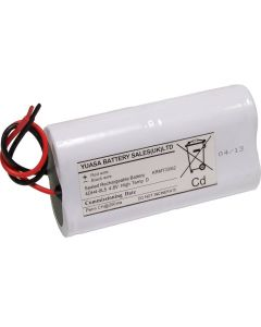Yuasa 4DH4-0L5 - Emergency Battery 4 Cell 2+2 Cell 4DH4-0L5