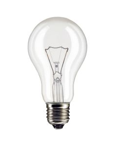 Eveready Clear 40w GLS Rough Service Lamp - E27