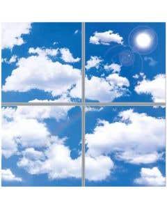40w LED Panels - 3D Sky Clouds