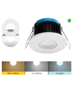 EMERGENCY 8W ALL IN ONE LED DIMMABLE DOWNLIGHT - GST18 PLUG