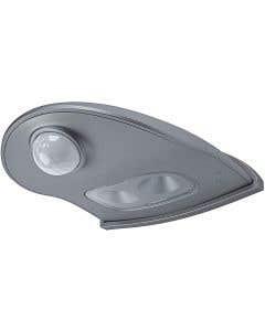 Osram Ledvance 1w DoorLED Downlight c/w PIR Sensor - Silver