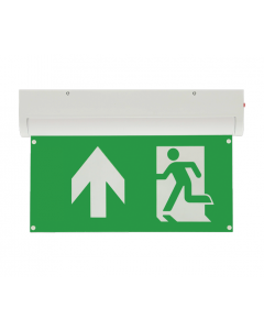 Bright Source 4 In 1 Emergency Exit Sign Up Arrow