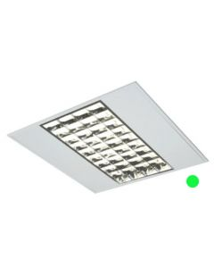 600mm x 600mm Emergency Recessed Modular 4x14w T5 Fluorescent Tube Fitting