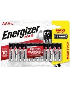 Energizer AAA High Power Alkaline Batteries - Pack of 12
