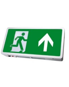 Bright Source LED Emergency Exit Box - Up Arrow