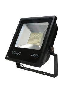Red Arrow 100w LED Floodlight 6500k - IP65 - Black