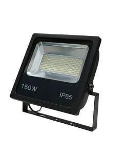 Red Arrow 150w LED Floodlight 6500k - IP65 - Black