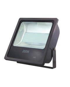 Red Arrow 200w LED Floodlight 6500k - IP65 - Black