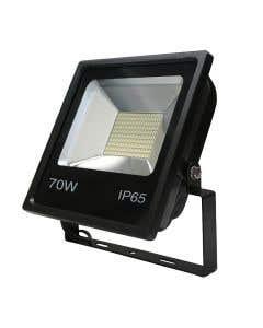 Red Arrow 70w LED Floodlight 6500k - IP65 - Black