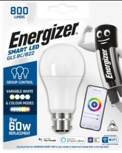 Energizer 9w Smart LED WiFi GLS BC Bulb - S17161