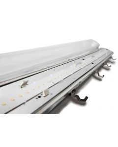 4ft 52w Twin LED Luminaire 850