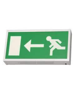 Bright Source LED Emergency Exit Box - Left Arrow
