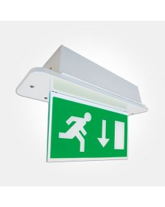 Eterna 3.5w LED Emergency Exit Box - Maintained