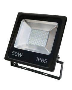 Red Arrow 50w LED Floodlight 6500k - IP65 - Black