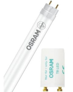 Osram LEDVANCE 4ft 1200mm 16.2w LED T8 Tube c/w FREE Starter Tube with starter