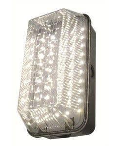Powermaster 10w LED IP65 Rectangular Polycarbonate Bulkhead - S8250