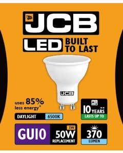 JCB 5w LED GU10 100° 6500K - S10964