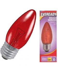Eveready 25w ES Fireglow Candle Lamp - S11905