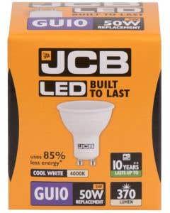 JCB 5w LED GU10 100° 4000K - S12499