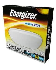Energizer 16w LED Slimline Square Bathroom Fitting - 4000k S12932
