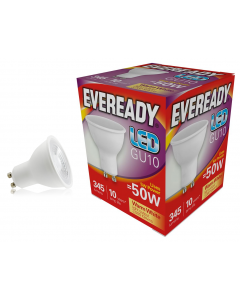 Eveready 5w LED GU10 3000K - S13600