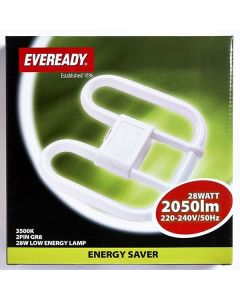 Eveready 28w 2D Low Energy 2-Pin GR8 - 835