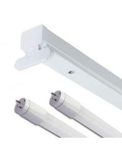 Twin 5FT T8 LED READY Batten Fitting Body tubes