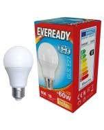 Eveready 9.6w LED GLS Opal E27 3000K - S13624