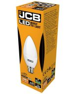 JCB 6w LED Candle Opal BC 4000K - S12502 - Picture of Box