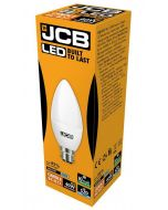JCB 6w LED Candle Opal BC 6500K - S10979 - Picture of Box