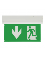 Bright Source 4 In 1 Emergency Exit Sign down Arrow