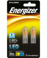 Energizer 2w LED G9 6500k - Twin Pack