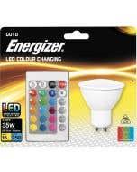 Energizer 4.5w LED GU10 RGB With Remote 2